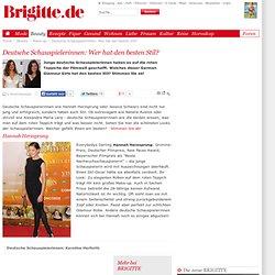 Deutsche Schauspielerinnen: Wer hat den besten Stil?