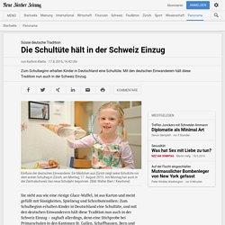 Süsse deutsche Tradition: Die Schultüte hält in der Schweiz Einzug - NZZ Panorama