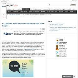 La Deutsche Welle lance la 9e édition des Bobs en 14 langues