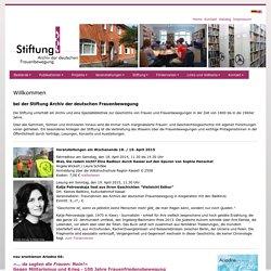 Stiftung Archiv der deutschen Frauenbewegung