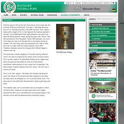Deutscher Fußball-Bund e.V. - The trophy