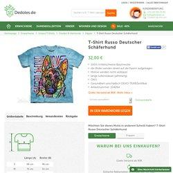 T-Shirt Russo Deutscher Schäferhund - Dedoles.de
