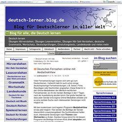 Deutsches Fernsehen online mit MediathekView