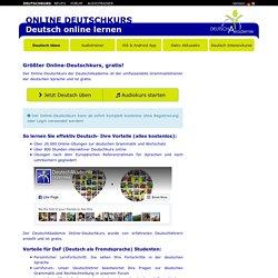 Online Deutschkurs - Online Deutsch lernen
