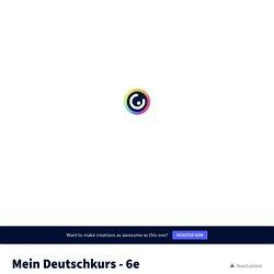 Mein Deutschkurs - 6ème (PipiLangstrumpf)