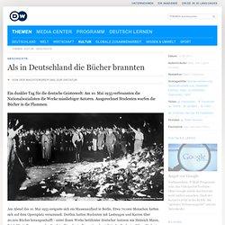 Als in Deutschland die Bücher brannten
