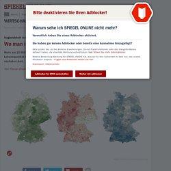 Deutschland: Ungleichheit in Karten - wo man gut und gerne wohnt (und wo nicht)