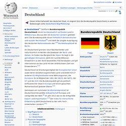Deutschland - Wikipedia