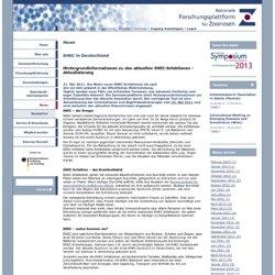 EHEC in Deutschland > Zoonosenplattform > News und Presse