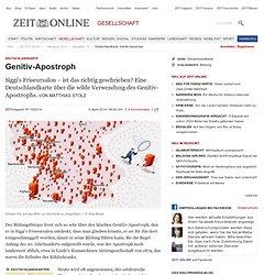 Deutschlandkarte: Genitiv-Apostroph