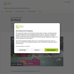 Schule - Deutschlandlabor