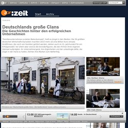 Deutschlands große Clans