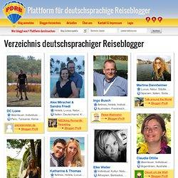 Verzeichnis der Plattform für deutschsprachige Reiseblogger