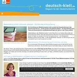 Medienbildung im Deutschunterricht einfach und kreativ umsetzen
