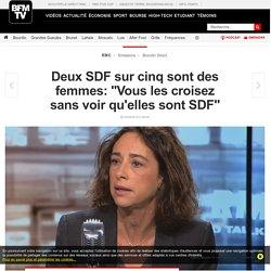 Deux SDF sur cinq sont des femmes: « Vous les croisez sans voir qu'elles sont SDF »