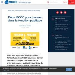 Deux MOOC pour innover dans la fonction publique