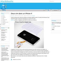 Deux sim dans un iPhone 4