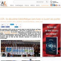 USA: la deuxième bibliothèque sans livres a ouvert ses portes