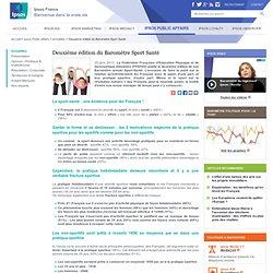 Deuxième édition du Baromètre Sport Santé