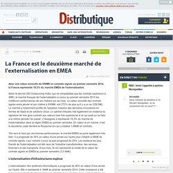 La France est le deuxième marché de l'externalisation en EMEA