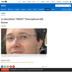 """Le deuxième """"MOOC"""" francophone fait fureur"""