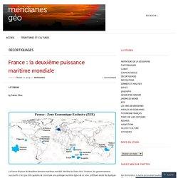 France : la deuxième puissance maritime mondiale