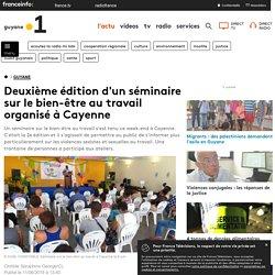 Deuxième édition d'un séminaire sur le bien-être au travail organisé à Cayenne - Guyane la 1ère