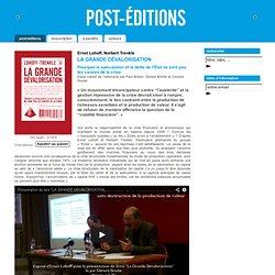 LA GRANDE DÉVALORISATION - Norbert Trenkle, Ernst Lohoff - Post Éditions