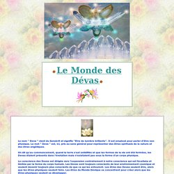 Devas de la Nature - Anges - Fées - Gnomes - Lutins...