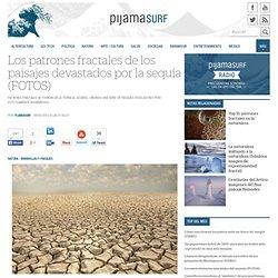 Los patrones fractales de los paisajes devastados por la sequía (FOTOS)