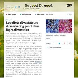 Les effets dévastateurs du marketing genré dans l'agroalimentaire
