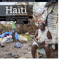 Dans le sud dévasté d'Haïti, après le passage de l'ouragan Matthew