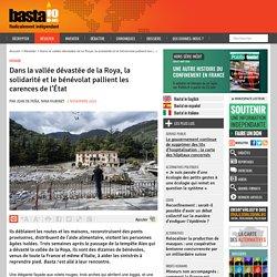 2 nov. 2020 Dans la vallée dévastée de la Roya, la solidarité et le bénévolat pallient les carences de l'État