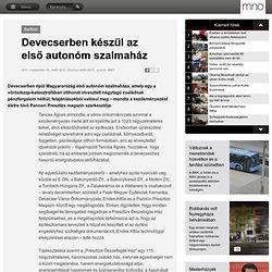 Magyar Nemzet Online - Devecserben készül az első autonóm szalmaház