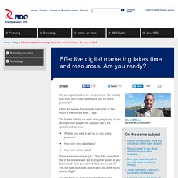 How to develop your small business digital strategy
