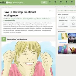 How to Develop Emotional Intelligence: 15 Steps