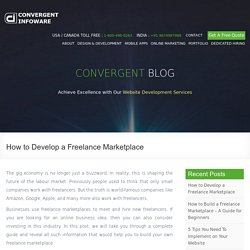 How to Develop a Freelance Marketplace