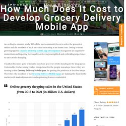 Cost of Developing a Grocery Delivery Mobile Application
