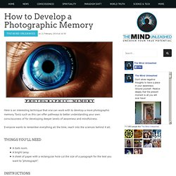 develop-photographic-memory