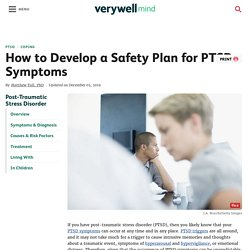 How to Develop a Safety Plan for PTSD Symptoms