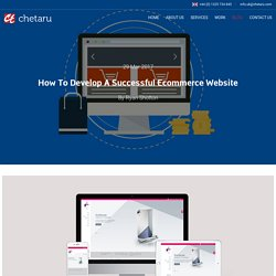 How You Can Develop An Ecommerce Website Successfully?