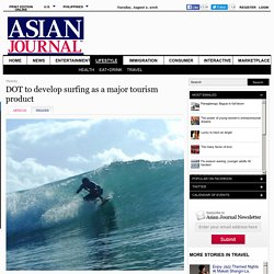 DOT to develop surfing as a major tourism product