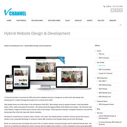 Website Design & Developement in Singapore