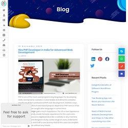Hire PHP Developer in India for Advanced Web Development