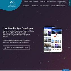 Android & IOS App Development Company