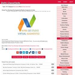Virtual Tour Developer By Augmented Reality DLC167802
