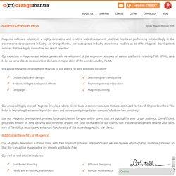 Magento Developer Perth, E-commerce Website Development Service Perth