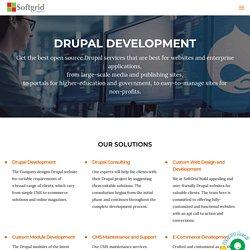 Hire Drupal Developer - Drupal Development Company