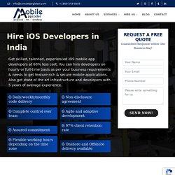 iPhone App Development Company India & USA