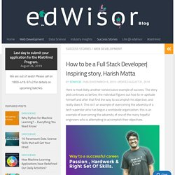 How to be a Full Stack Developer